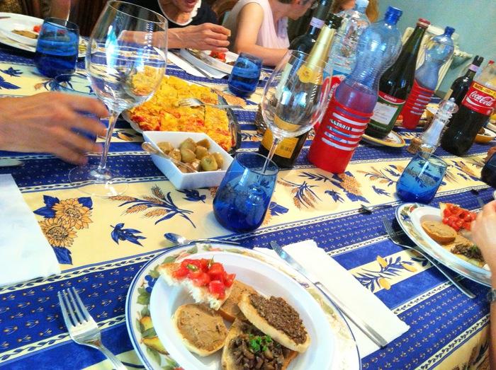 Menù di Ferragosto 2013 ☆イタリアの夏祭り料理 〜ペルージャ偏〜_b0246303_2147598.jpg