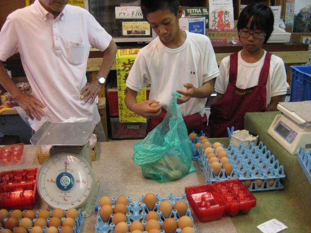中学生の職場体験 3日目_d0139806_053561.jpg