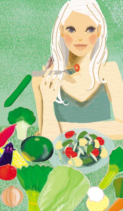 雑誌『からだにいいこと』巻末コラム2 野菜をもっと!_f0172313_15485362.jpg