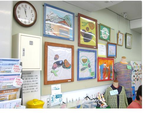 郵便局での展示・ひかりのつぶ展2013_f0211514_21514279.jpg
