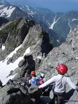 """2013年8月 『劔岳に登る』 August, 2013 \""""Mt. Tsurugi\""""_c0219616_952966.jpg"""