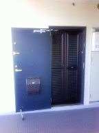 猫のための玄関網戸ドア_b0255217_12371973.jpg