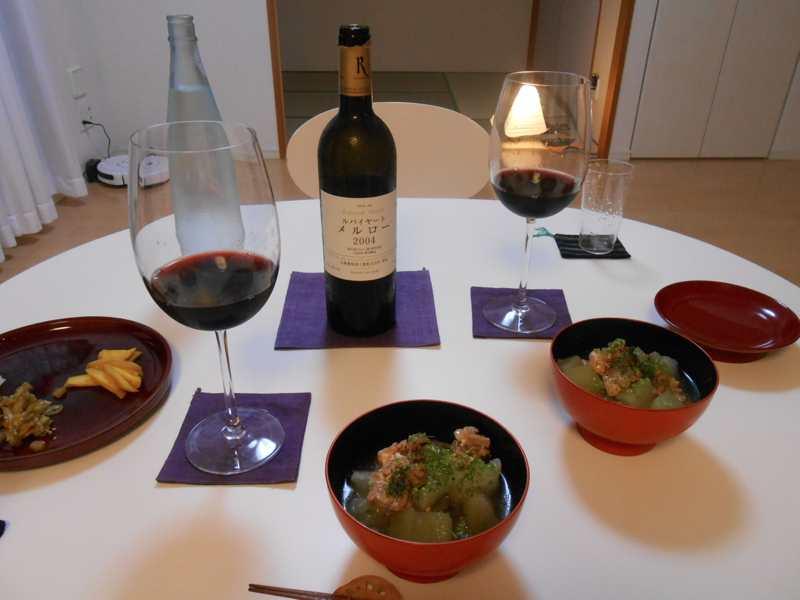 福袋のワインとBBQのたまもの_a0095931_1446751.jpg