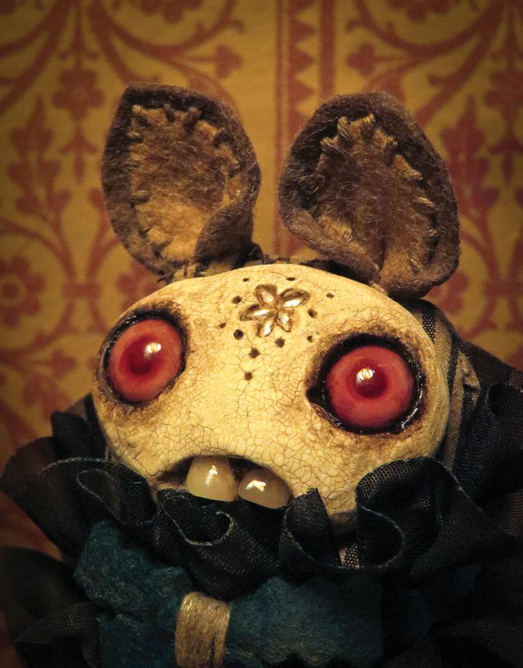 Monsters & Misfits III、ふたりの女流人形作家インタビュー_a0077842_5495896.jpg