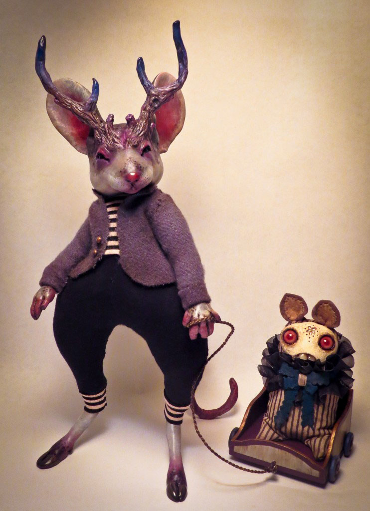 Monsters & Misfits III、ふたりの女流人形作家インタビュー_a0077842_613364.jpg