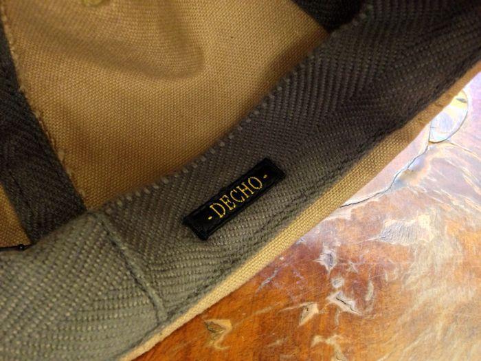"【DECHO】BALL CAP ""CANVAS""_d0227059_19484441.jpg"