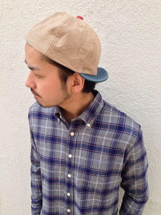 "【DECHO】BALL CAP ""CANVAS""_d0227059_19484673.jpg"
