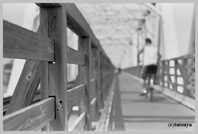 赤川仮橋 ~モノクロ編_f0139991_22242768.jpg