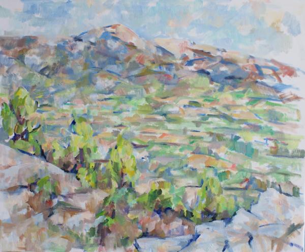 白い岩とヴァントゥー山(第一、第二段階)_c0236929_13535523.jpg