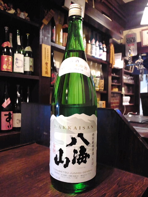 八海山 特別純米原酒 生詰が入荷!_d0205957_2042280.jpg
