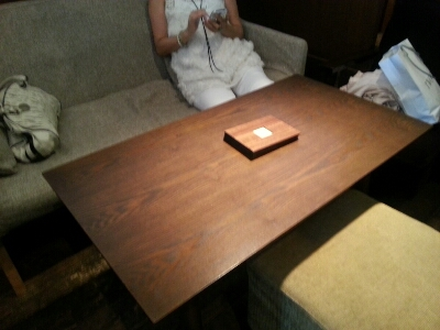久しぶりの和カフェ「北斎茶房」でかき氷~!_a0187658_23321898.jpg