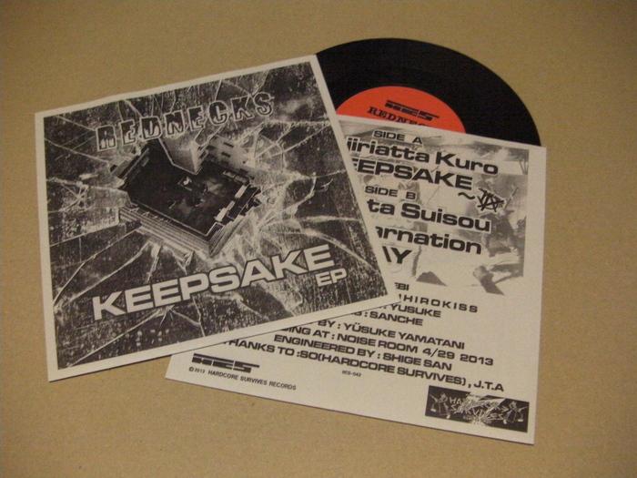 "REDNECKS - keepsake 7\""ep (HCS-042) out now!_f0201863_87115.jpg"
