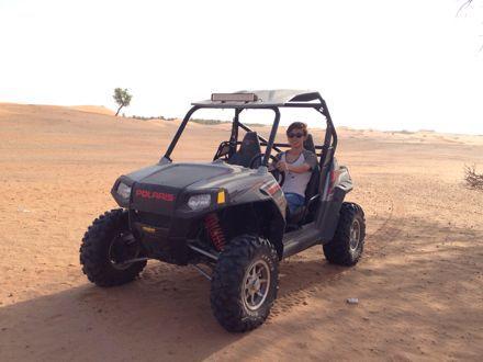 今朝は、砂漠なう。_e0066474_13424658.jpg