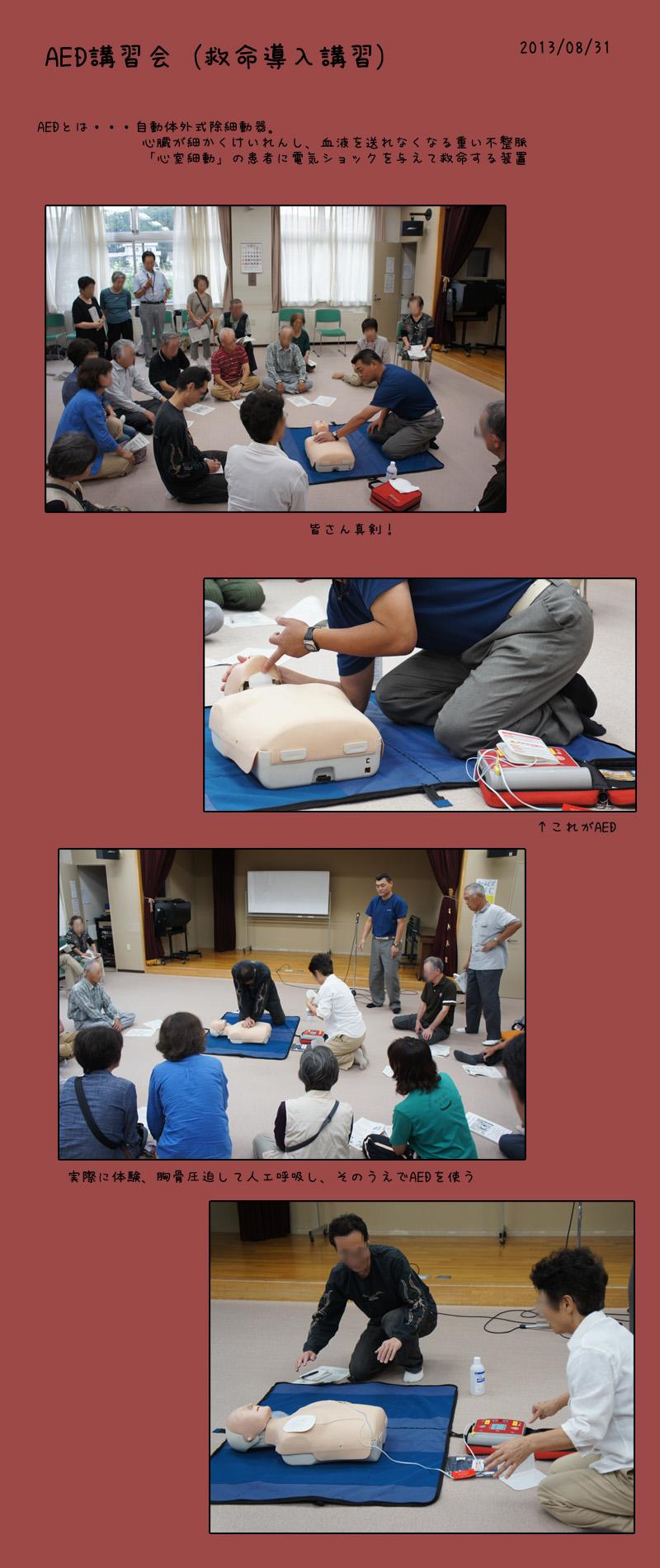 AED,救命導入講習_b0019313_18141261.jpg