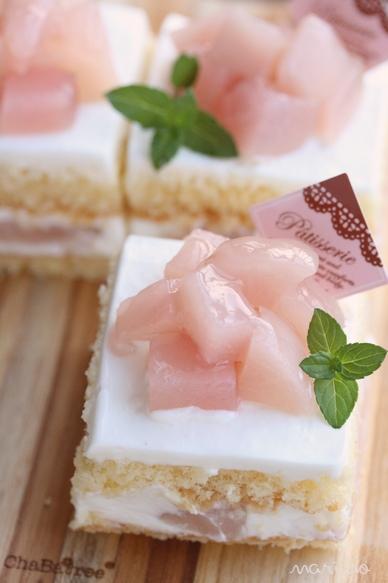 桃のショートケーキ♪ レシピ付♪_d0098954_2252433.jpg