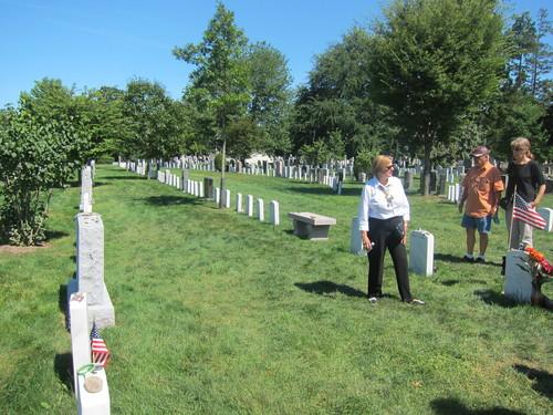 アメリカ陸軍士官学校の墓地に、なぜかピラミッドがある・・・_d0240098_10482011.jpg