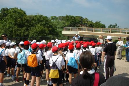 箱作小学校5年学年交流会サポートin せんなん里海公園_a0316716_2231395.jpg