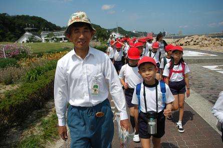 箱作小学校5年学年交流会サポートin せんなん里海公園_a0316716_22334162.jpg