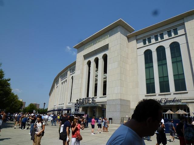 Yankee Stadium イチローの応援! _a0158486_6104879.jpg