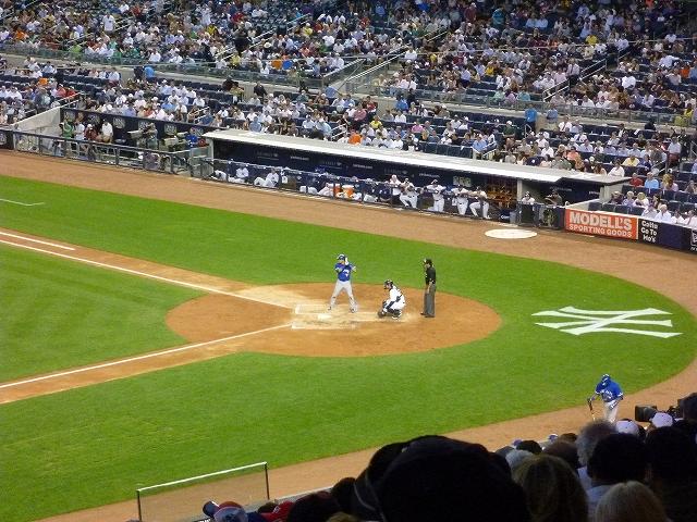 Yankee Stadium イチローの応援! _a0158486_6152779.jpg