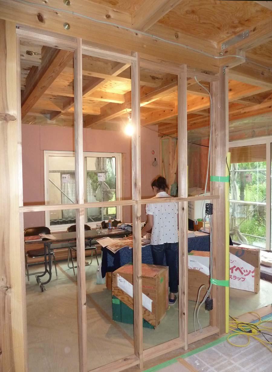 A様邸「松長布の家」施工中建学会のご案内です。 _f0150893_933424.jpg