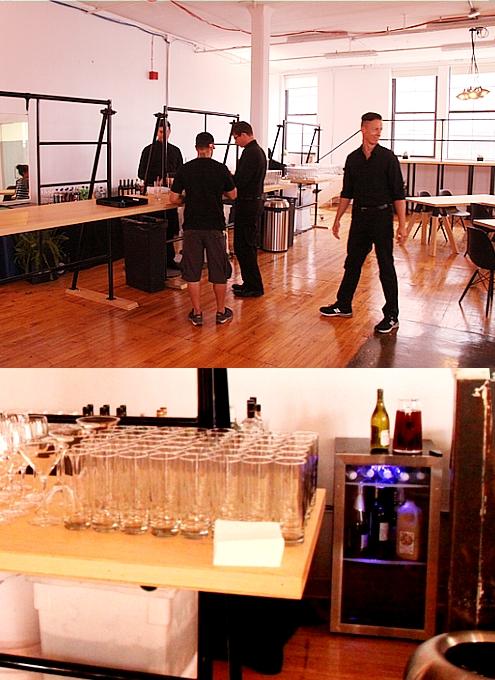 NYで初のGoogle Glassパーティ、お酒や軽食はこんな感じ_b0007805_057944.jpg