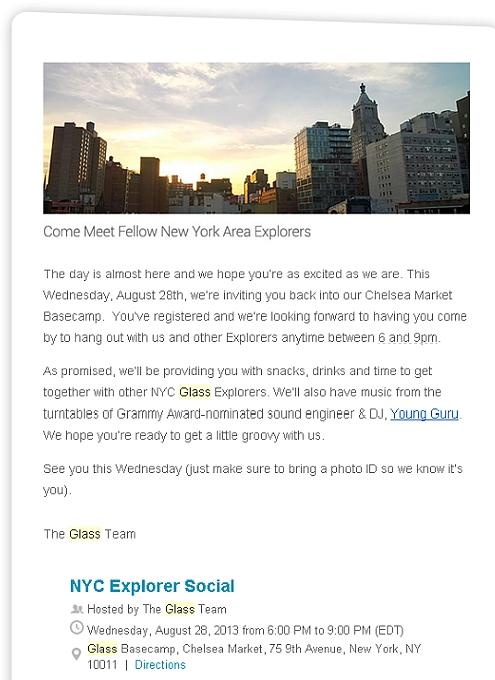 NYで初のGoogle Glassパーティ、お酒や軽食はこんな感じ_b0007805_1432977.jpg