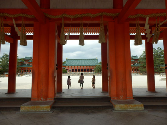 平安神宮 残暑1_e0048413_20525033.jpg