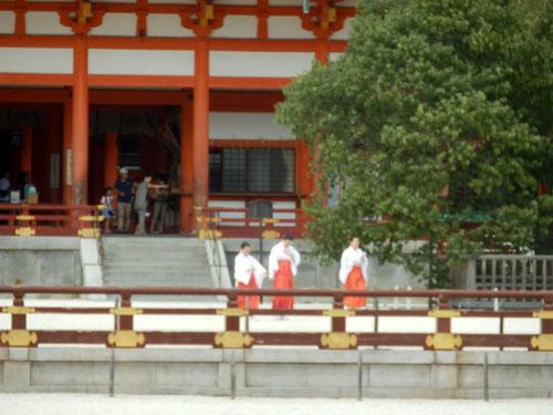 平安神宮 残暑1_e0048413_20532213.jpg