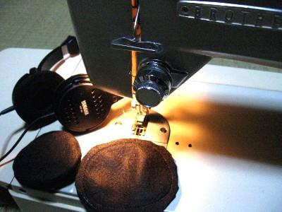 ヘッドホンのイヤパッド修理_f0182936_073615.jpg