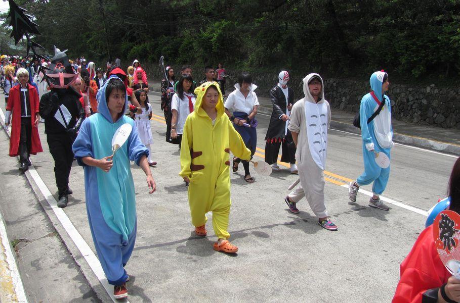 Baguio Day Parade 2013 フィリピン・バギオ市制104周年記念 コスプレ・パレード_a0109542_14313795.jpg