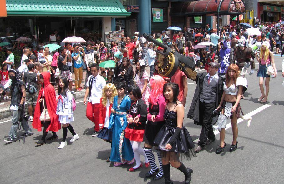 Baguio Day Parade 2013 フィリピン・バギオ市制104周年記念 コスプレ・パレード_a0109542_14411221.jpg