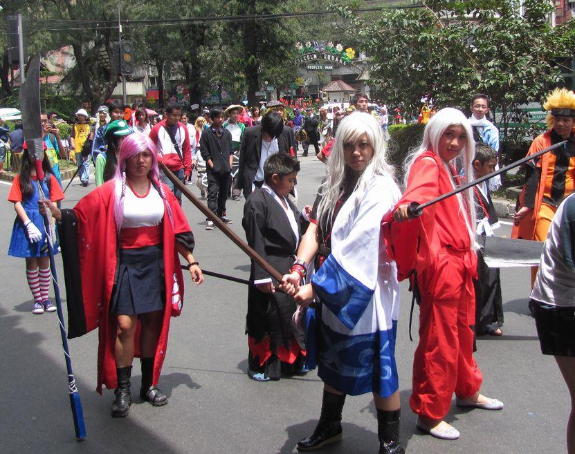 Baguio Day Parade 2013 フィリピン・バギオ市制104周年記念 コスプレ・パレード_a0109542_1448381.jpg