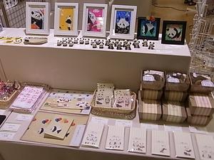 うさぎ展最終日17時迄です!パンダの雑貨展の様子_d0322493_1415978.jpg