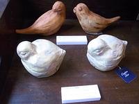 東急ハンズ梅田店での展示はあと3日。鳥展開催中。_d0322493_15163456.jpg