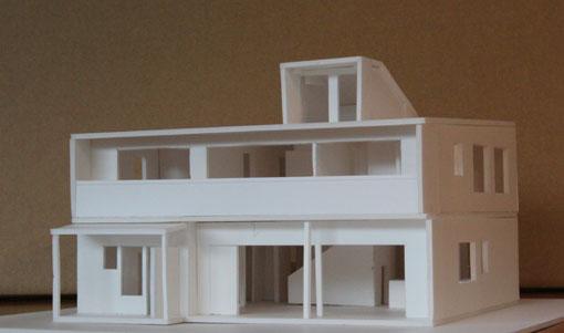 Q1住宅ーX1八幡:模型_e0054299_16193940.jpg