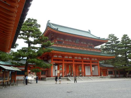 平安神宮 残暑2_e0048413_18314641.jpg
