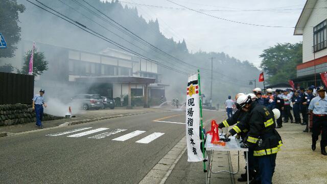 総合防災訓練_f0081443_2132167.jpg