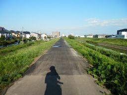 仙台 亘理 自転車道路へ _e0140354_15351027.jpg
