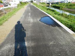 仙台 亘理 自転車道路へ _e0140354_15374568.jpg
