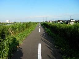 仙台 亘理 自転車道路へ _e0140354_15483325.jpg