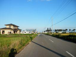 仙台 亘理 自転車道路へ _e0140354_15574331.jpg