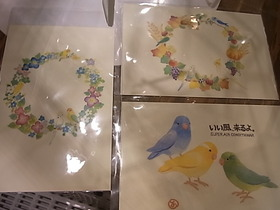 お待たせしました!インコと鳥の雑貨展画像たくさん!_d0322493_1915137.jpg