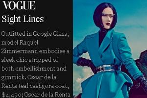 ファッション誌ヴォーグ最新号「未来的なガジェット」特集にGoogle Glass登場_b0007805_22371874.jpg