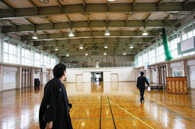 おとどけアート 1日目 北陽小学校×佐藤隆之_a0062127_17175178.jpg