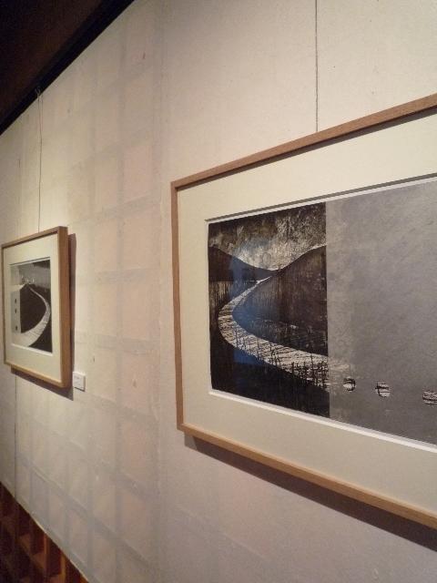 2013.9①岡谷敦魚 版画展_e0138627_16512462.jpg