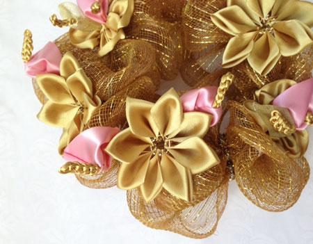 Golden Anthurium wreath ゴールデン アンスリウム リース_c0196240_1743640.jpg