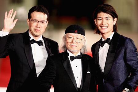 第70回ベネチア国際映画祭に松本零士氏、オメガを装着して登場_f0039351_2051576.jpg
