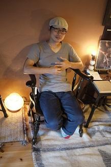 「気軽に座ってくださいね」~小島優 椅子展 3~_f0226293_842451.jpg