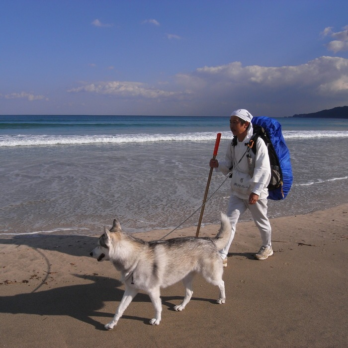 Memory of the second pilgrimage with Second husky HANA_c0049299_17144264.jpg